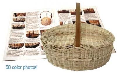 Weave Your Own Heirloom-To-Be Wicker Picnic Basket Here.  $32.95. Just one of 50+ Basket Weaving Kits for all Levels from Beginner to Advanced Basket Weavers.