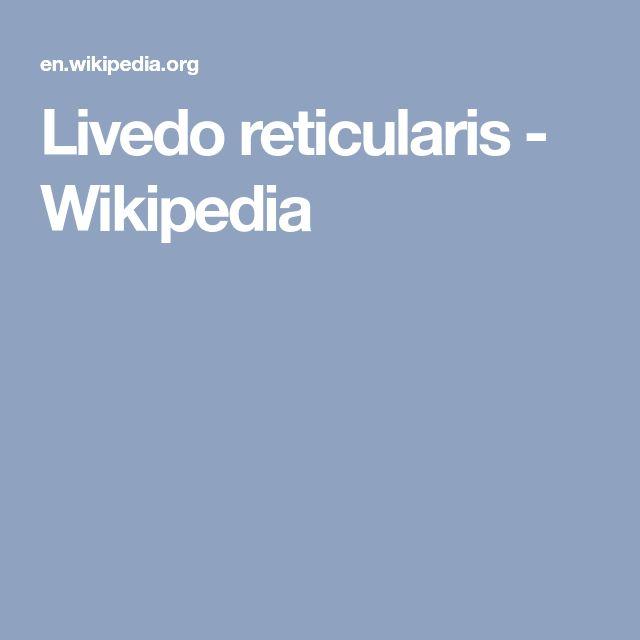 Livedo reticularis - Wikipedia