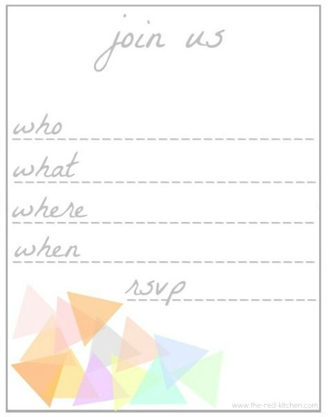 44 best Invites images on Pinterest Free printables, Invites and - free party invitation templates