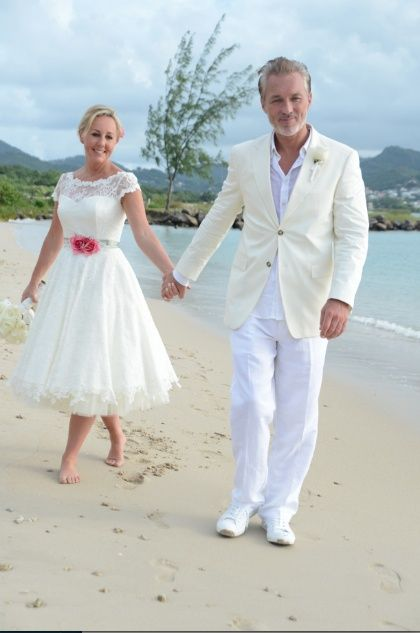 Shirlie + Martin Kemp Renew Their Vows on their 25th anniversary In St Lucia 2014
