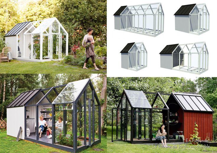 En finlande la cabane de jardin modulable atelier et design - Cabane jardin atelier besancon ...