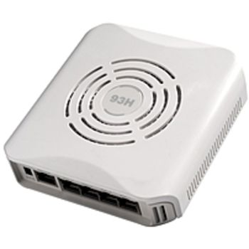 Aruba Networks AP-93H IEEE 802.11n 300 Mbit/s Wireless Access Point - ISM Band - UNII Band - 5 x Network (RJ-45) - Wall Mountable