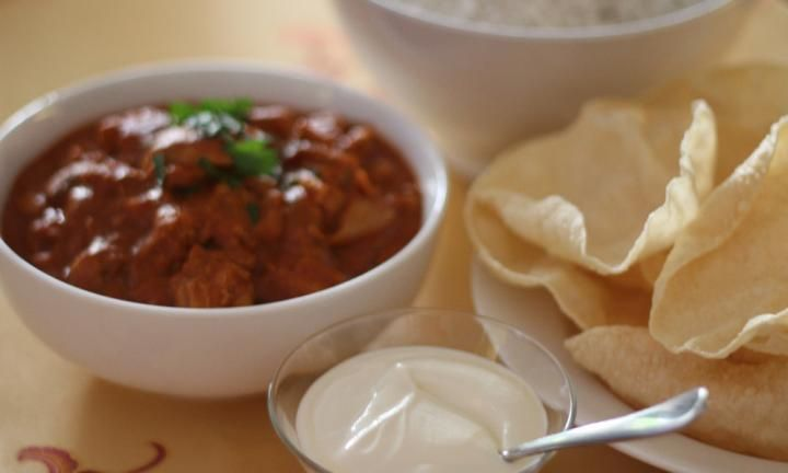This slow cooker butter chicken is an Indian food lover's dream. Set it and forget it and come home to a nice big serve of your favourite dish to serve up with basmati rice and naan bread. Perfection!