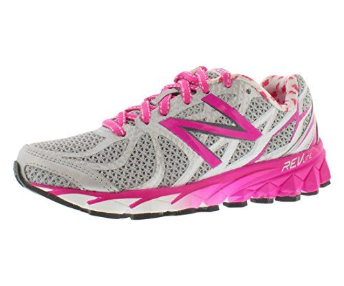 New Balance Women's W3190 NBX Running Shoe,Silver/Pink,9.5 B US >>> Want additional info? Click on the image.