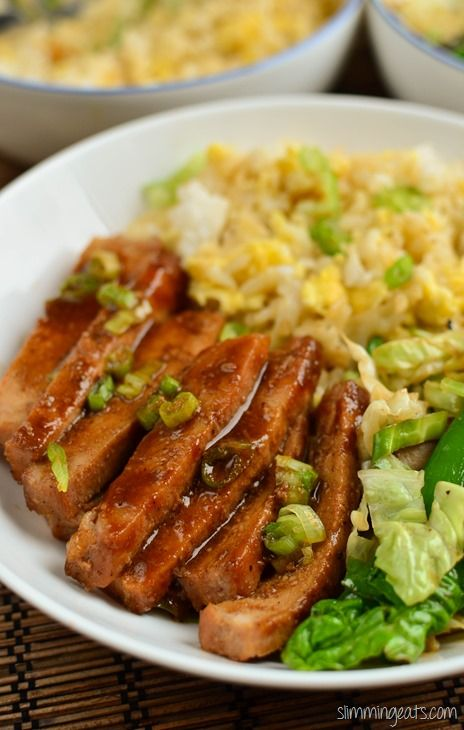 This recipe is dairy free, Slimming World (SP) and Weight Watchers friendly Slimming Eats Recipe Extra Easy – 1.5 syns per serving Original/SP – 1.5 syns per serving (serve with cauli rice) Chinese Pork  Print Serves 4 Author: Slimming Eats Ingredients 2 tablepoons of hoisin sauce (3 syns) 4 tablespoons of light soy sauce...Read More »