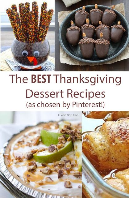 The Best Thanksgiving Dessert Recipes!