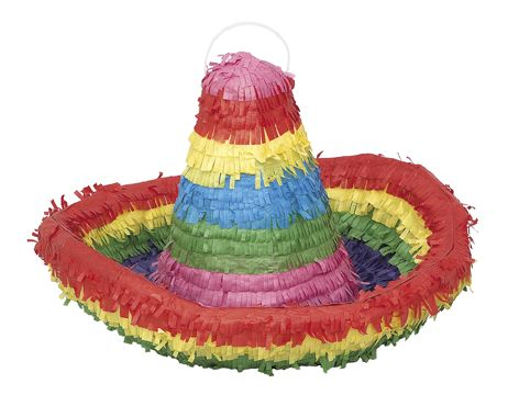 Pignatta a forma di sombrero su VegaooParty, negozio di articoli per feste. Scopri il maggior catalogo di addobbi e decorazioni per feste del web,  sempre al miglior prezzo!