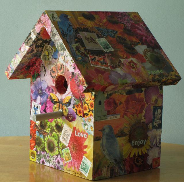 decoupage-birdhouse-linda-wiggen-kraft-blog