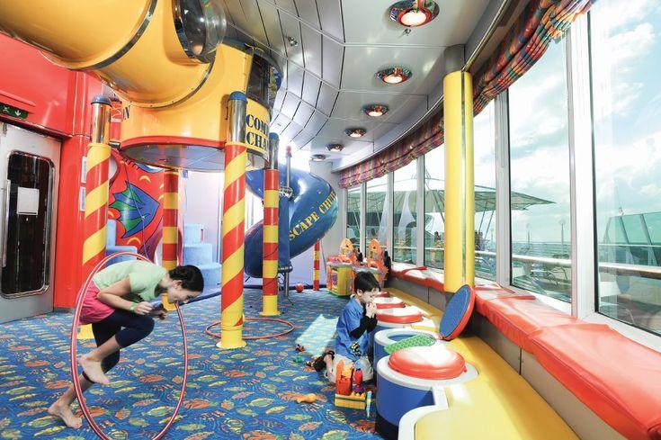 Grandeur of the Seas, Kid's Adventure Center