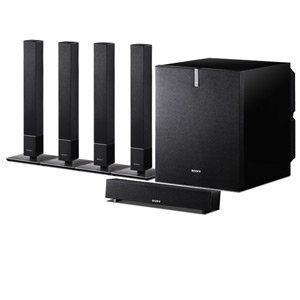 Sony 5.1 Channel 600 Watt Surround Sound Home Theater Speaker System by Sony. $249.95. Recreate the cinema experience and add surround sound to your home theater with the Sony 5.1 Channel Home Theater Speaker System. Bring your home theater experience to a whole new level with superb surround sound reproduction. The Sony Home Theater Speaker System comes with four speaker desktop stands for front and rear speakers. An ideal audio addition to your home theater, the So...