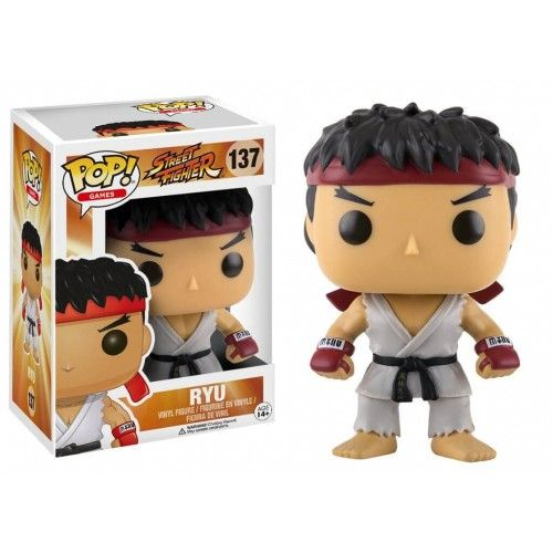 Funko Ryu, Street Fighter, SF, Games, Funkomania