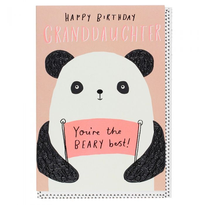 Happy Birthday Granddaughter Card Paperchase Cards Birthday Cards Happy Birthday