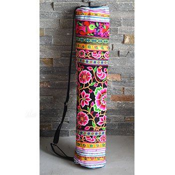 Embroidered Tribal Yoga Mat Bag