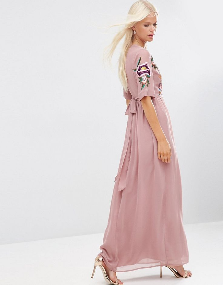 Famoso Vestido De La Dama De Honor De Color Pavo Real Ornamento ...
