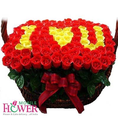 Online Cake Flower Delivery To Pune At Mobileflower Send Amazing Flowers Birthday
