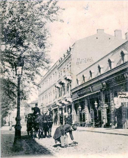 Galati - Hotel Bristol - 1903