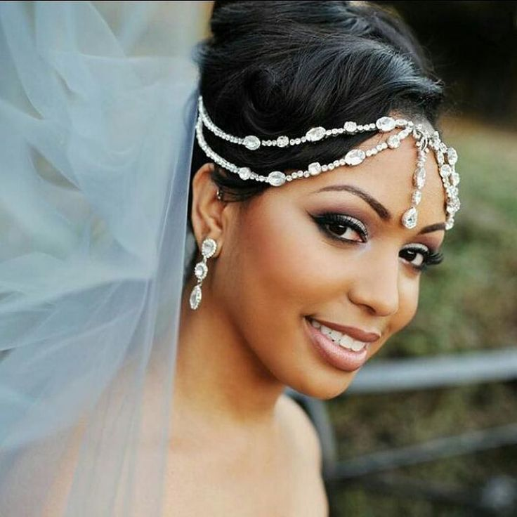 Wedding Headpieces For Bride: 2206 Best Ebony Brides Images On Pinterest