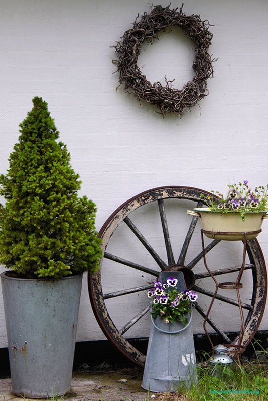 45 Best Images About Tuin Brocante On Pinterest Gardens