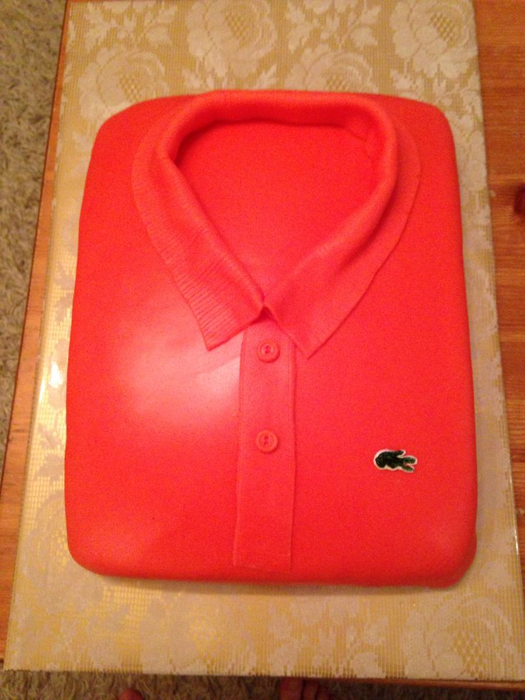 Lacoste cake (Lacoste Norway anaversary)