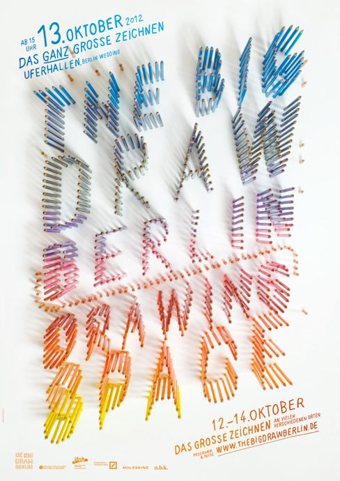The Big Draw Berlin 2012 poster