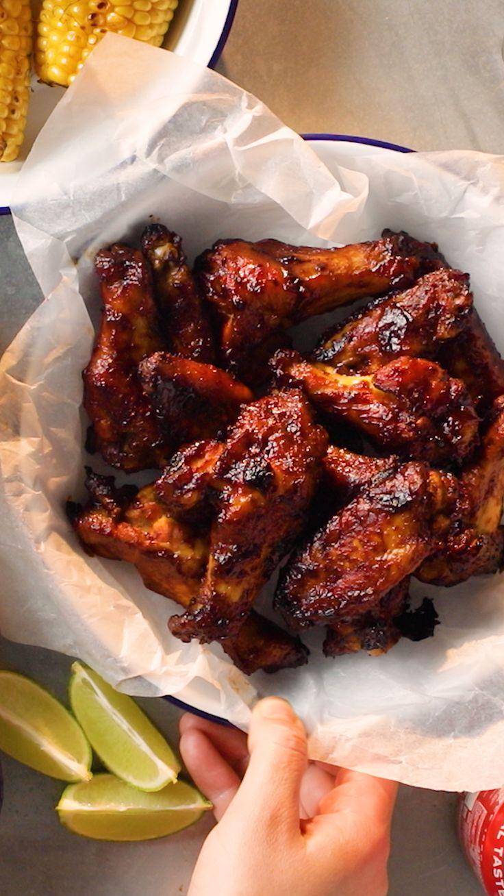 Rum and Coke Chicken Wings – Bravo Alfa