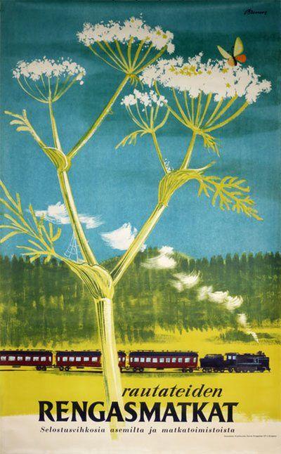 Finland - Rautateiden Rengasmatkat Bruun, Erik
