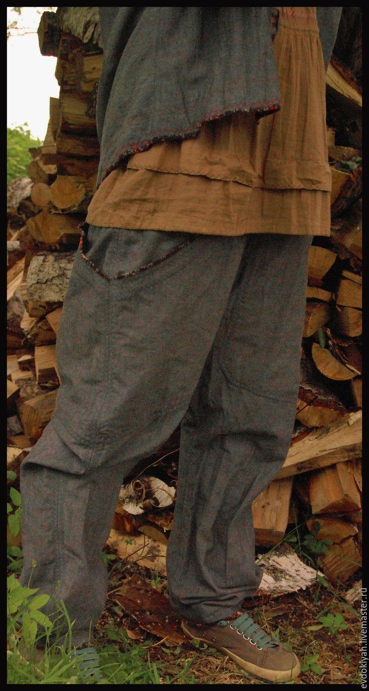 Купить или заказать ОДЕЖДА ДЛЯ СВОБОДНЫХ НАТУР в интернет-магазине на Ярмарке Мастеров. КОСТЮМ Куртка-30000 Платок-6000 Рубашка-20000 Штаны-35000 Юбка-30000 Куртка с подкладкой и капюшоном,без карманов Рубашка тонкая с вышивкой и веревочкой чуть выше талии Штаны с подкладкой,широким шагом и огромными карманами Юбка на кокетке ,присборенная снизу и слегка баллоном.