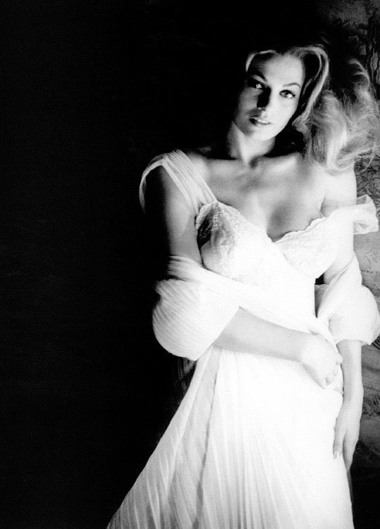 Portrait of Anita Ekberg, 1956. Photo by Peter Basch