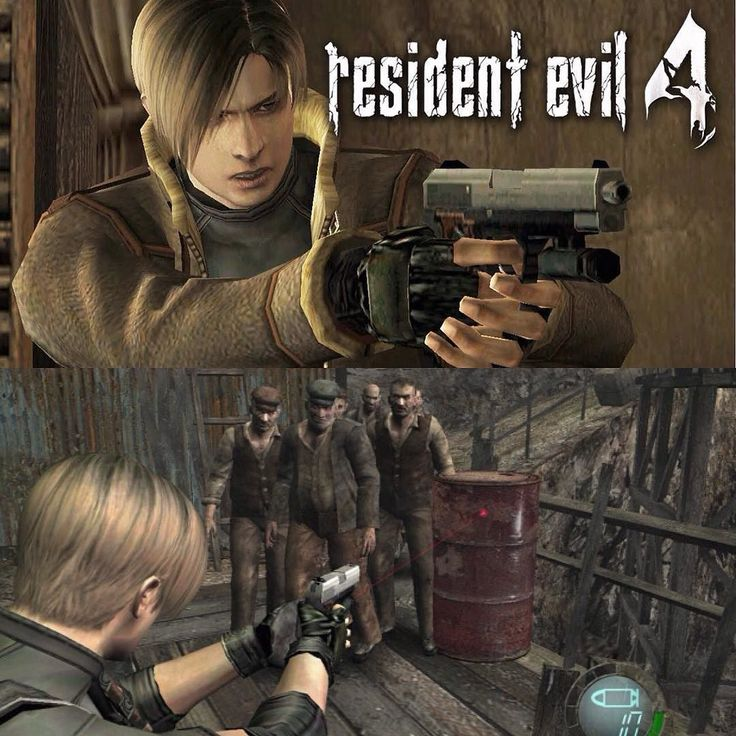On instagram by console_fan #playstation1 #microhobbit (o) http://ift.tt/1Le96nE guys welcome back to another short review of the Resident Evil 4  Resident Evil 4 known as Biohazard 4 in Japan is a survival horror third person shooter video game developed and published by Capcom. The sixth main entry in the Resident Evil series the game was originally released for the GameCube in North America and Japan in January 2005 and in Europe and Australia in March 2005. The story follows the U.S…