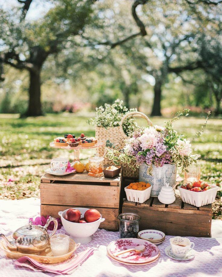хоть экзотический, завтрак на природе фото дизайн