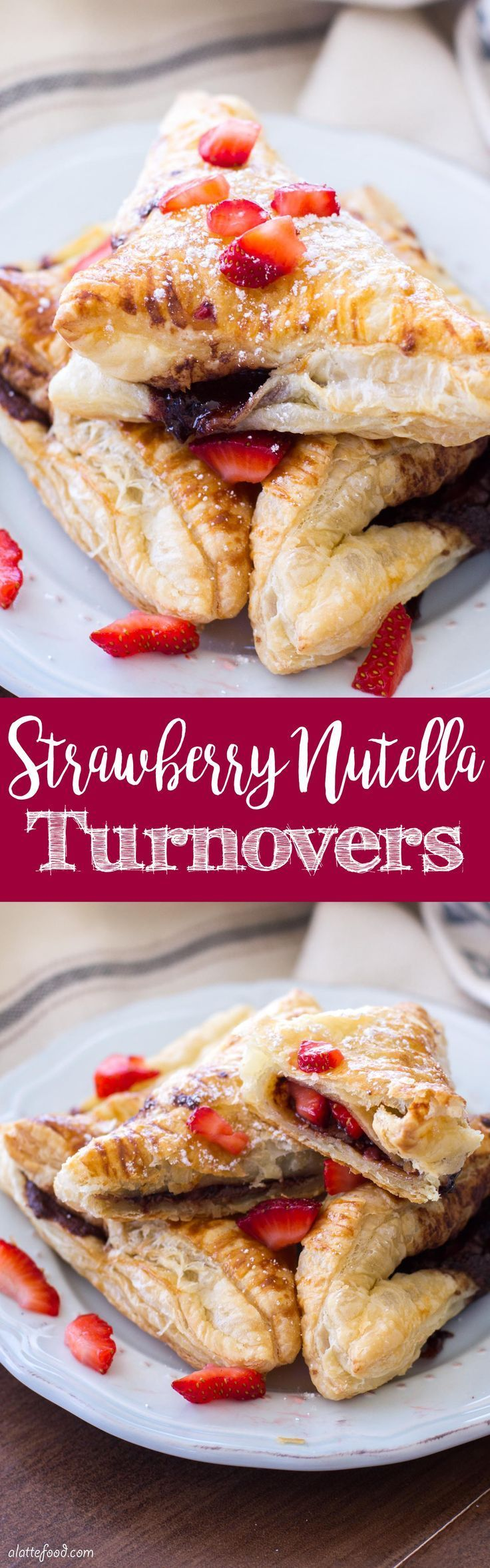 This easy chocolate turnover recipe is filled with strawberries and Nutella to make the perfect breakfast, brunch, or dessert! These Strawberry Nutella Turnovers are simple, delish, and chocolatey. What more could you want?