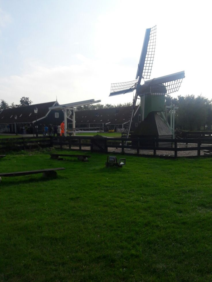 Windmills. Zaanse Schans. Bus 391 from Amsterdam Central Station