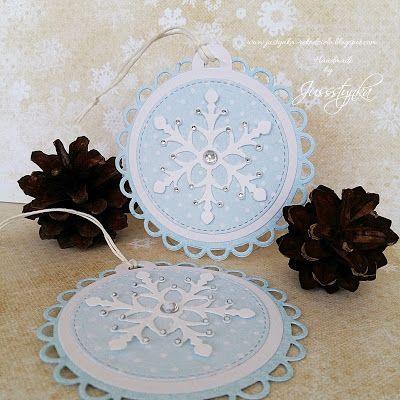 Handmade by Jussstynka: Różowe i niebieskie