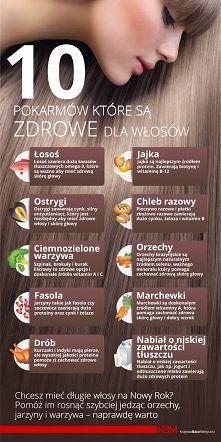 ZDROWE WŁOSY na Pomysły - Zszywka.pl
