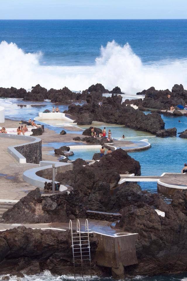 A master piece of Nature - lava pools - Porto Moniz, Madeira Island - PORTUGAL