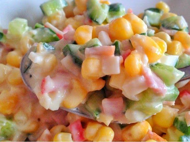 Fit Kızın Yemek Kitabı: Yengeç salatası - 76 kkal/100g