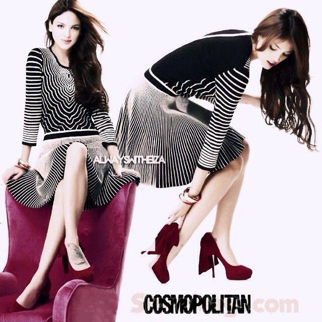 Eiza en la revista COSMOPOLITAN:) #eiza #eizagreyna #eizamusica #cosmopolitan magazine #revista #beautiful #perfect #Padgram