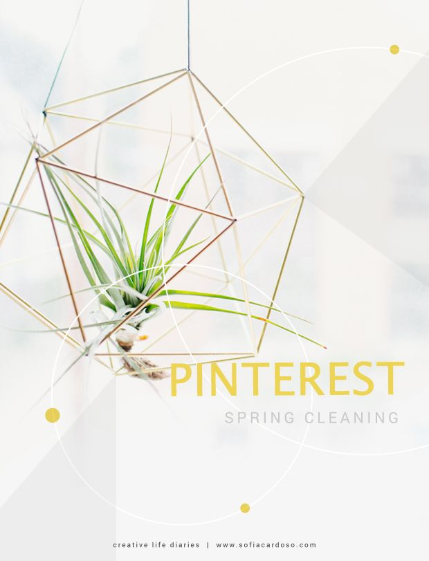 Pinterest Spring Cleaning | creative life diaries