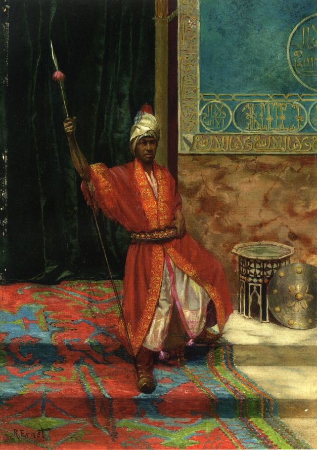 The Sultan's Guard | by Rudolf Ernst