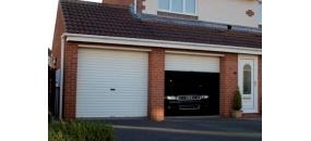 Garage door - Single Skin Roller Door  http://www.doormatic.co.uk