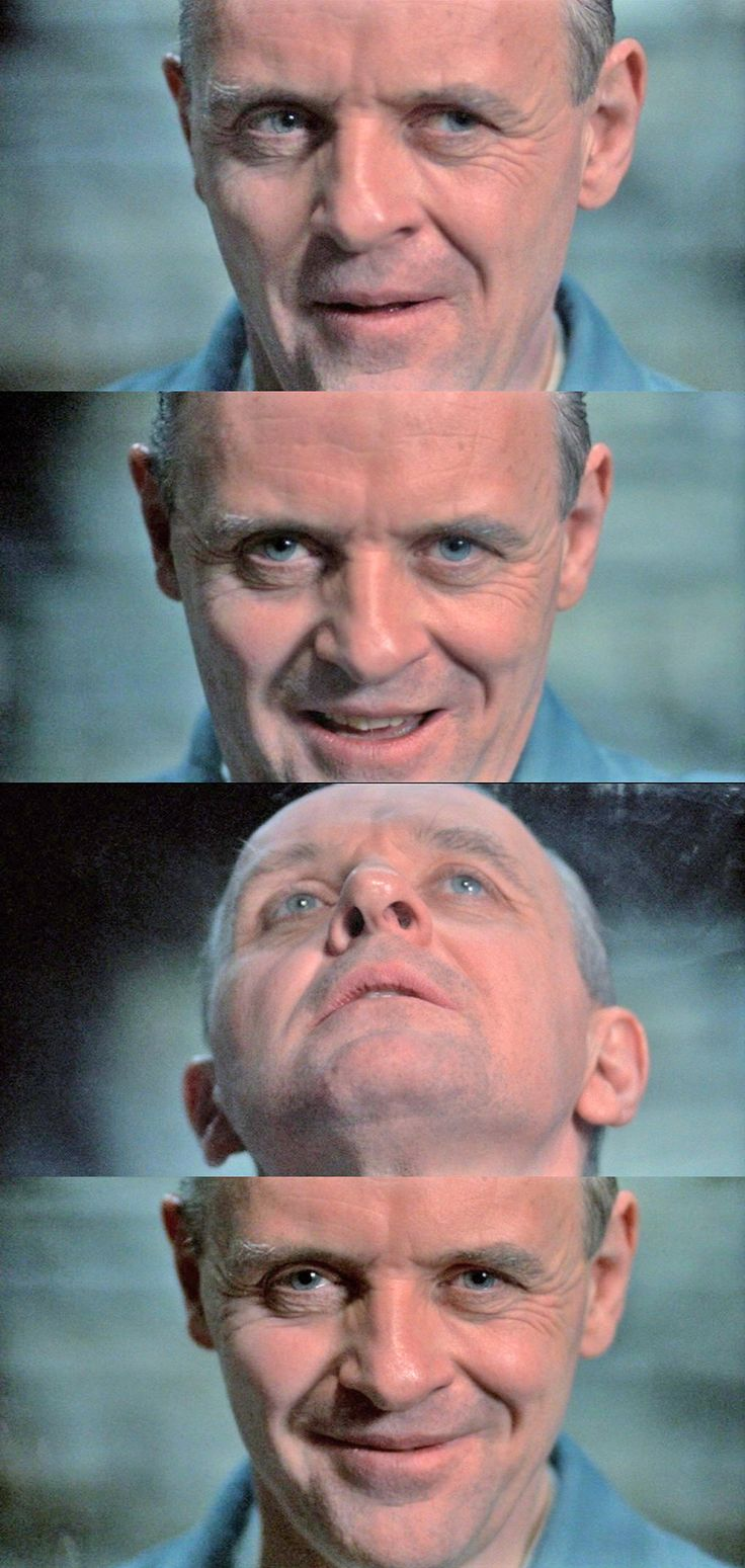 #7. Anthony Hopkins as Dr. Hannibal Lecter in The Silence of the Lambs, (1991).