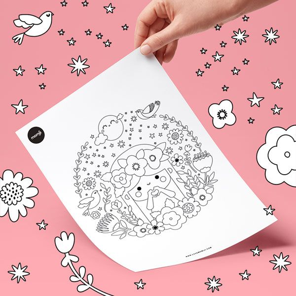 More Kawaii Colouring Books Pages Super Cute Kawaii Coloring Books Coloring Pages Free Coloring Pages