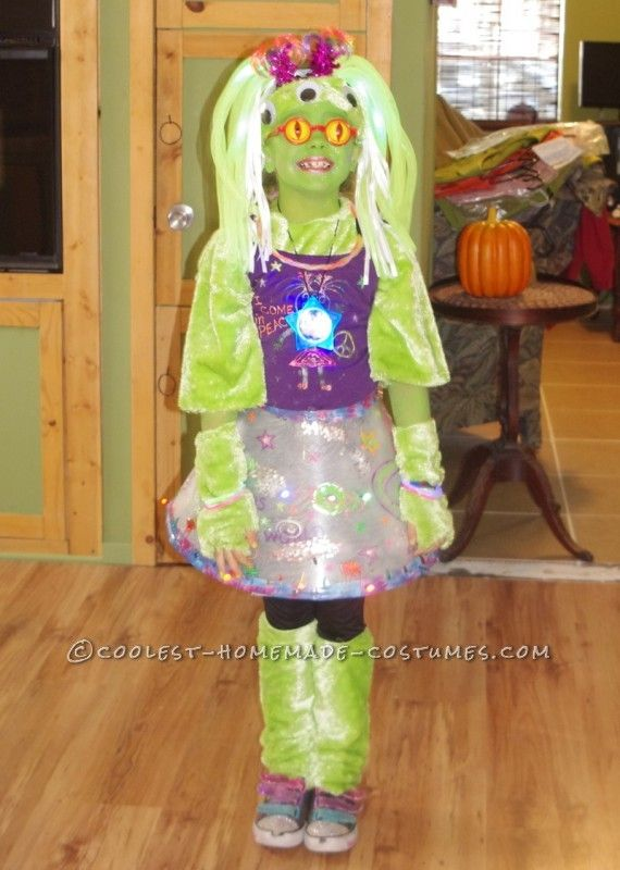 43 Best Alien Costume Ideas Images On Pinterest & Girl Alien Costume Ideas - Meningrey
