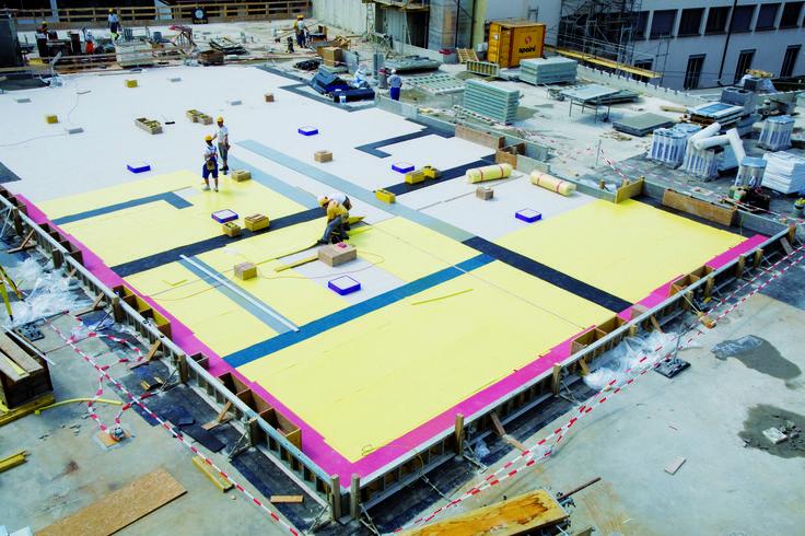 #vibration technology #construction  http://www.aercel.it/antivibranti-/sylomer-e-sylodin