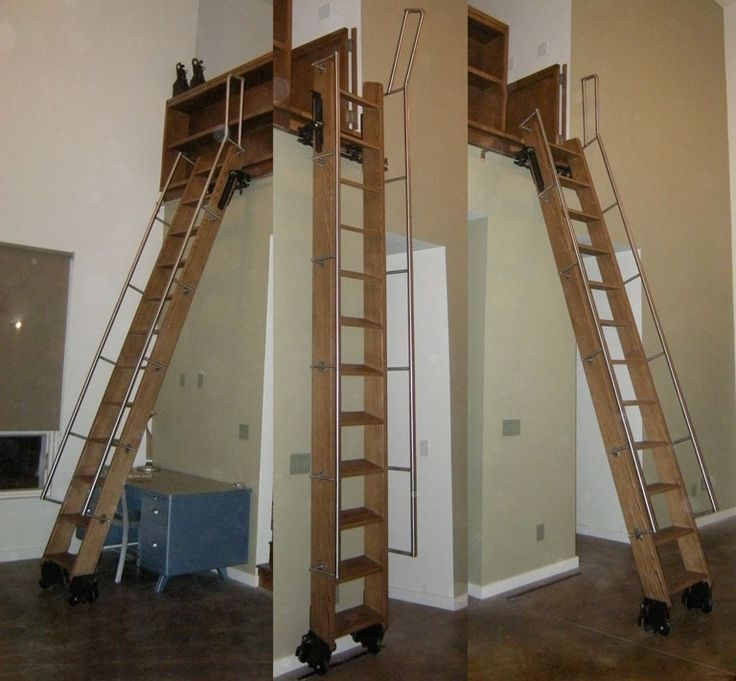 Phill realistic idea of a loft ladder.