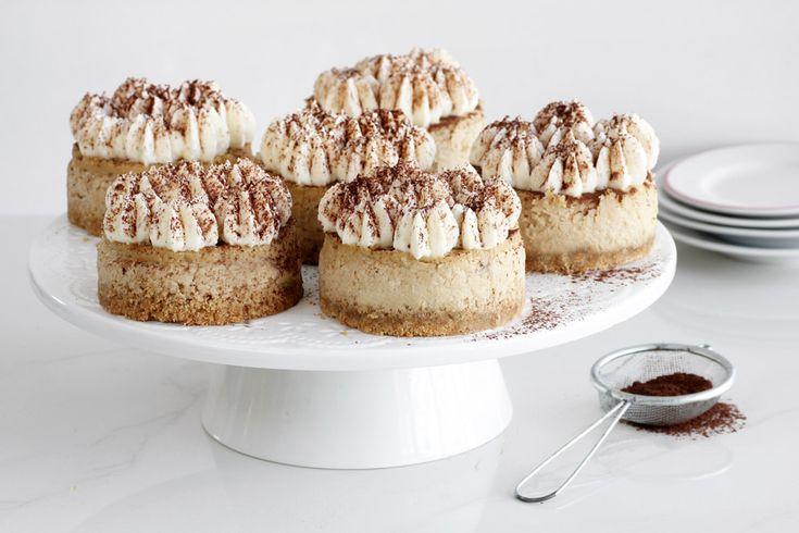 עוגות גבינה קפוצ'ינו // עוגיו.נט