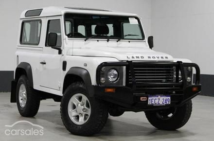 2012 Land Rover Defender Manual 4x4 MY12