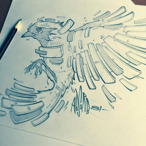 sketch work tattoo - Cerca con Google