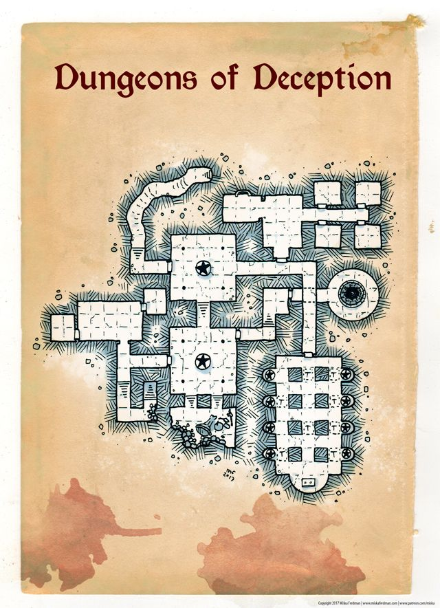 [Map] Dungeons of Deception