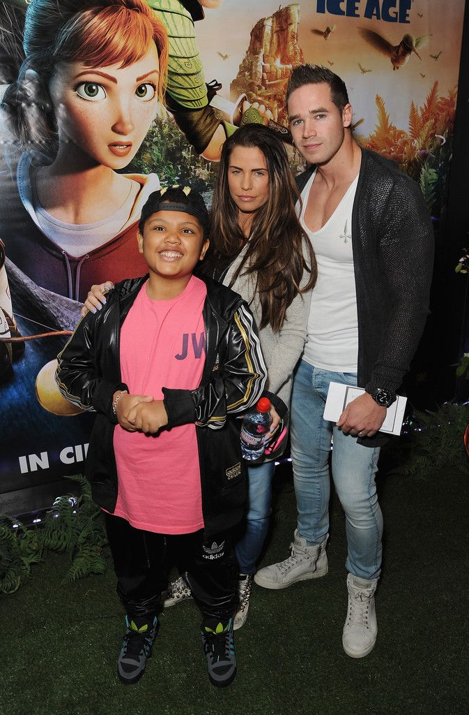 Katie Price and Harvey Price - Arrivals at the Epic Screening in London